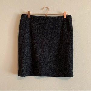 Ann Taylor Wool Mini Skirt Size 10